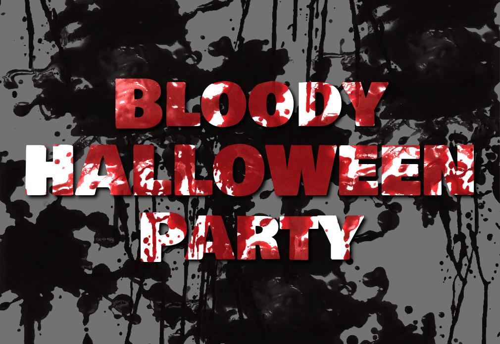 Bloody Halloween Text Effect