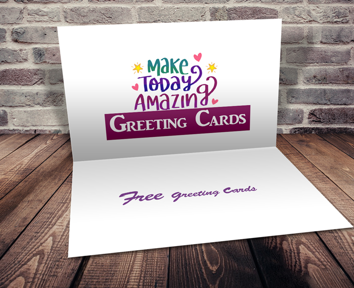 create greeting card in photoshop