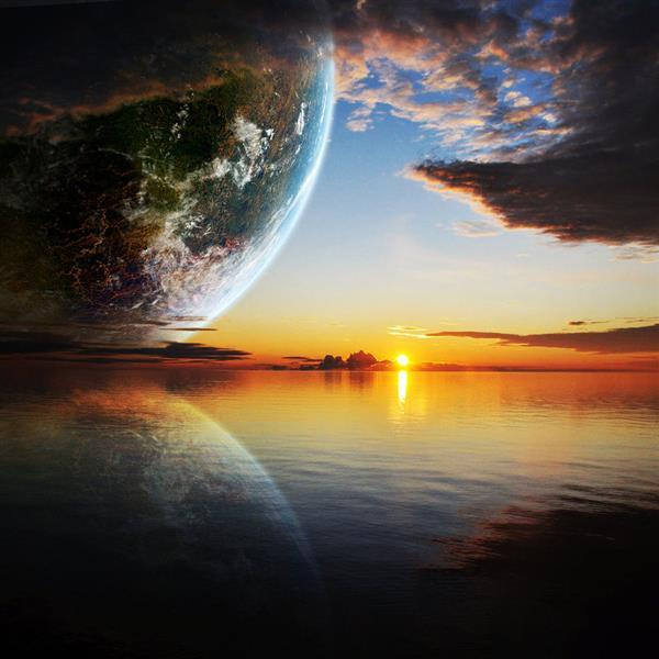 Planet Reflection