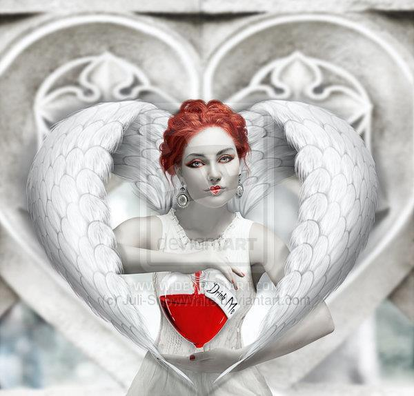 Cold Heart Angel Photoshop Manipulation