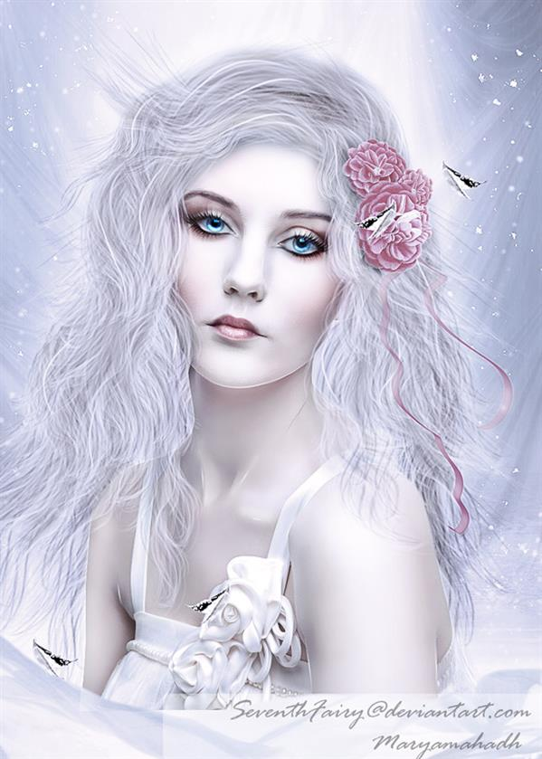 White Lady by SeventhFairy photoshop resource collected by psd-dude.com from deviantart