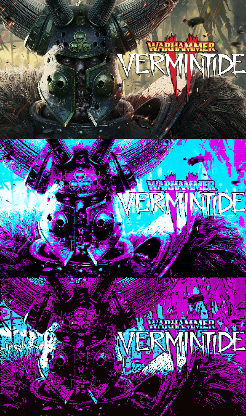 CGA Colors Wallpaper Warrhammer Vermin Tide 2
