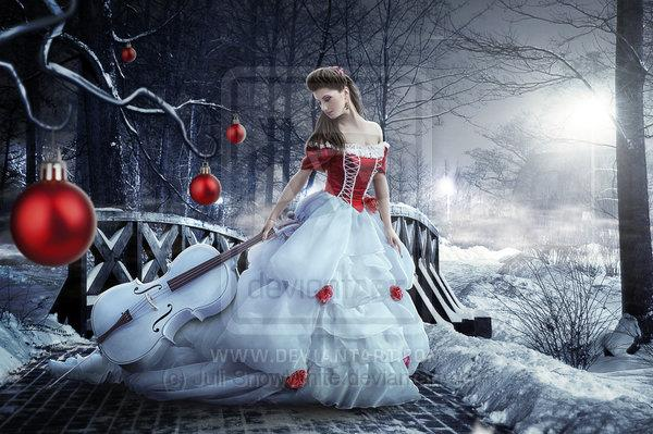 Christmas Night by Juli-SnowWhite photoshop resource collected by psd-dude.com from deviantart