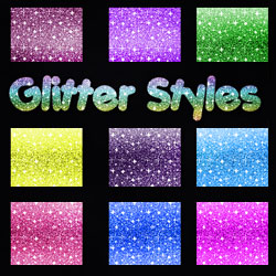Glitter Photoshop Patterns and Styles psd-dude.com Resources