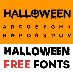 Halloween Font psd-dude.com Resources
