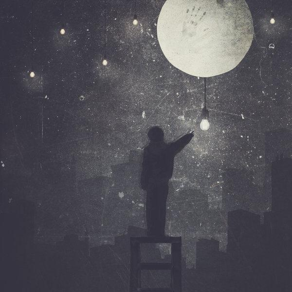 The Boy Who Lit The Stars Photo Manipulation