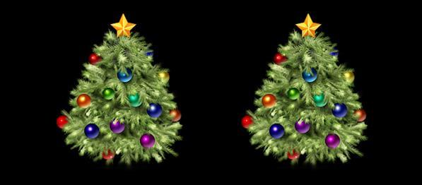 Create a Christmas Tree Icon in Photoshop