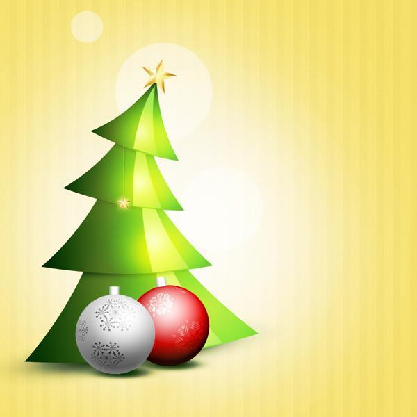 Create a Christmas Tree in Photoshop from Scratch