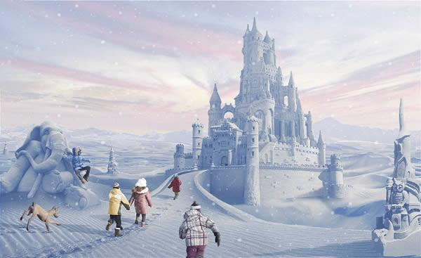 Create a Fairy Tale Winter Scene in Photoshop