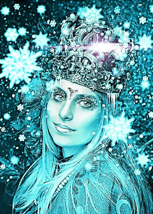 Create an Frozen Ice queen photoshop tutorial