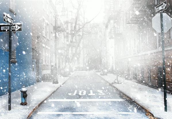 Create Amazing Winter Christmas Scene Using Snow Overlays In Photoshop