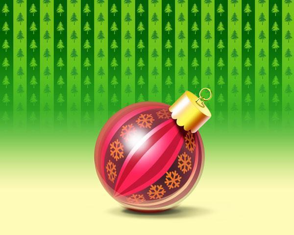 How to Create a Christmas Ball ornament in Photoshop