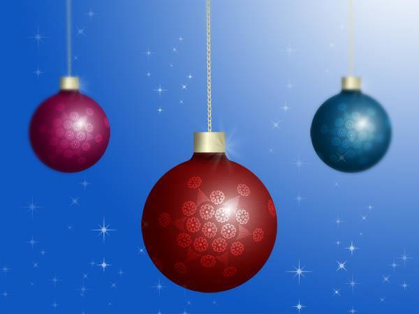 How to Create a Christmas ornament in photoshop