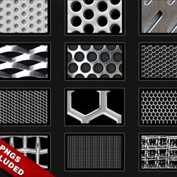 Photoshop Metal Pattern Collection psd-dude.com Resources