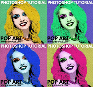 Pop Art Photoshop
