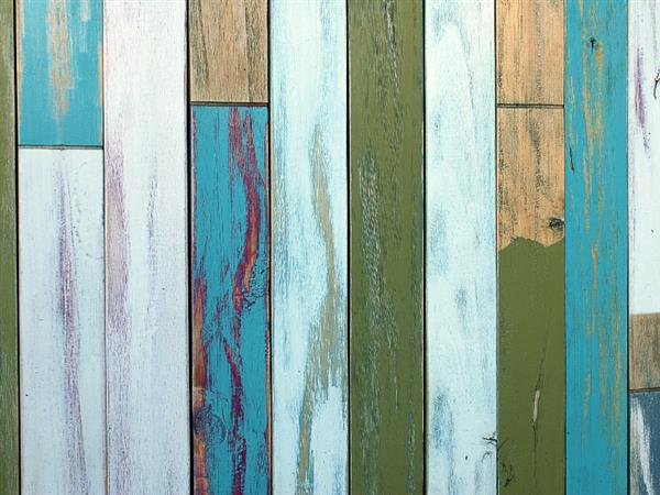 Painted Wood Plank Texture