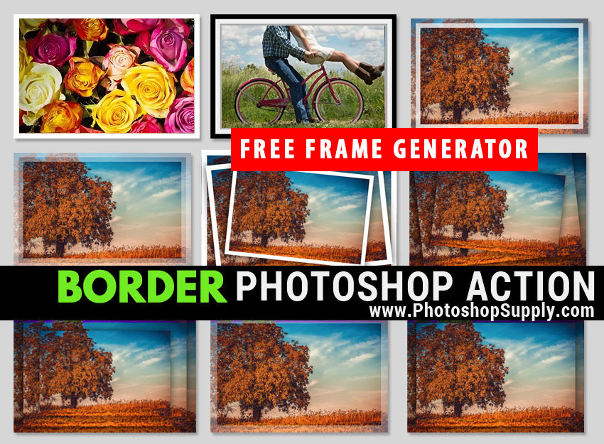 How to Add Border in Photoshop