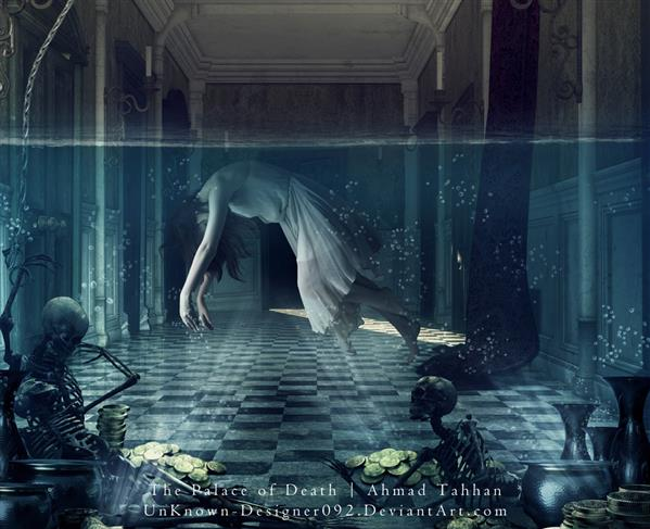 The Underwater Palace of Death Photoshop Manipulation