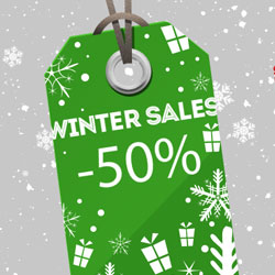 Winter Sales Price Tag Vector PSD psd-dude.com Resources