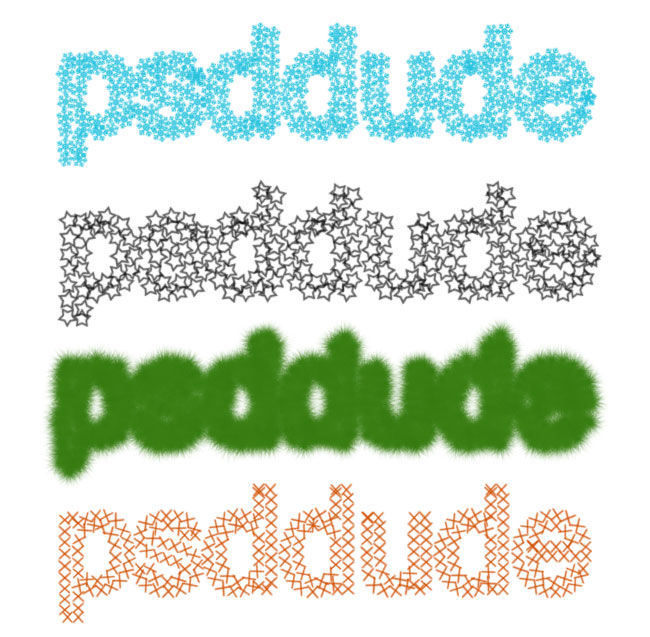 Stroke Path in Photoshop - Photoshop tutorial   PSDDude
