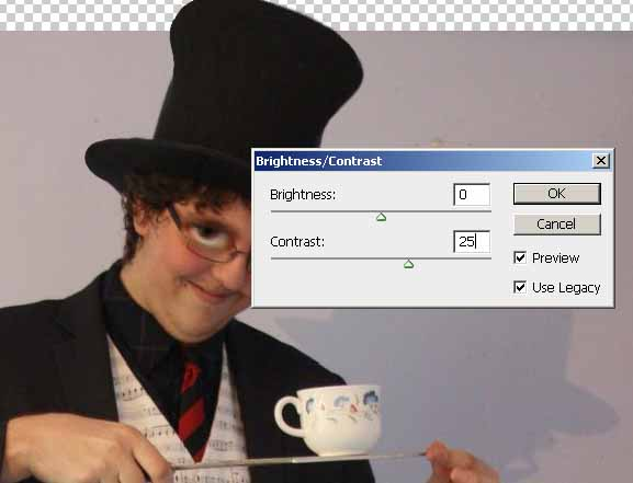 The Mad Hatter from Alice in Wonderland Photoshop Tutorial